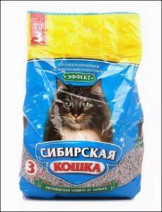 Сибирская Кошка наполнитель Впитывающий Эффект 3л