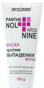 BelKosmex маска для волос Против выпадения Пантенол+Аргинин 180мл