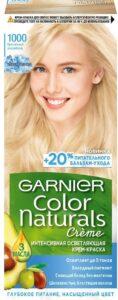 Garnier Color Naturals Краска для волос №1000 Кристальный Ультраблонд 110мл