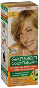 Garnier Color Naturals Краска для волос №8 Пшеница 110мл