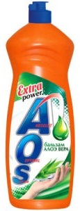 AOS средство для мытья посуды Бальзам Алоэ Вера 900гр