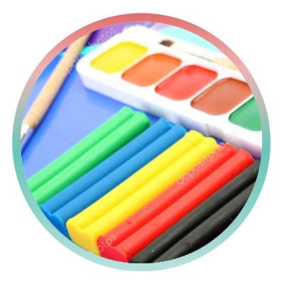 Краски/пластилин