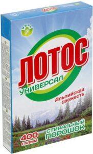Порошок стиральный Лотос-универсал ТУ 400гр
