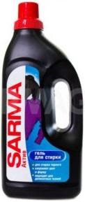 Сарма Актив Средство моющее жидкой для стирки черных тканей 1200мл