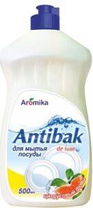 Antibak de Luxe средство для мытья посуды Цитрусовый фреш 500мл