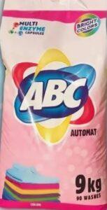 ABC Порошок для стирки авт Color 9кг
