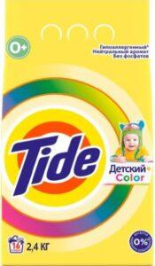 TIDE Порошок стиральный авт Детский Сolor 2.4кг