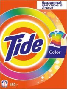 TIDE Порошок стиральный авт Color 450гр