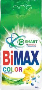 BiMax порошок стиральный Авт Color 9кг