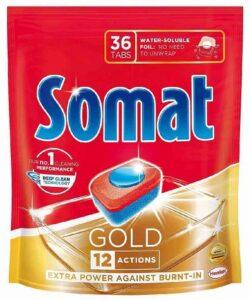 Somat Gold таблетки для посудомоечной машины 36шт