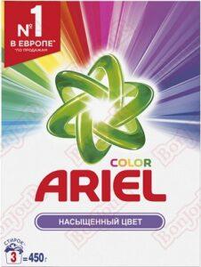 ARIEL Порошок стиральный  авт Color 450гр