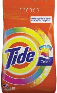 TIDE Порошок стиральный авт Color 3кг