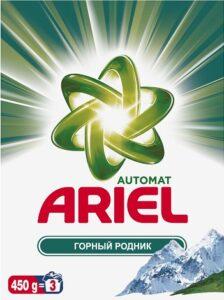 ARIEL Порошок стиральный авт Горный родник 450гр