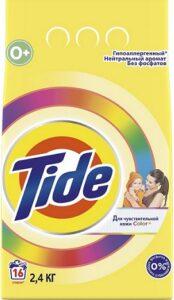TIDE Порошок стиральный авт Детский для Чувствительной кожи 2.4кг