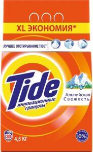 TIDE Порошок стиральный авт Альпийская свежесть 4.5кг