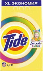 TIDE Порошок стиральный авт Детский Color 4.5кг