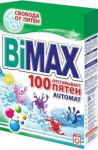 BiMax порошок стиральный Авт 100 ПЯТЕН 400гр