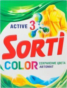 Sorti Порошок стиральный Авт Color 350гр
