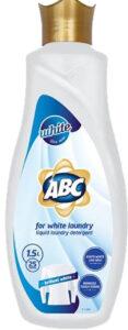 ABC Жидкий порошок для стирки авт White 1500мл