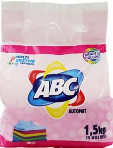 ABC Порошок для стирки авт Color 1.5кг