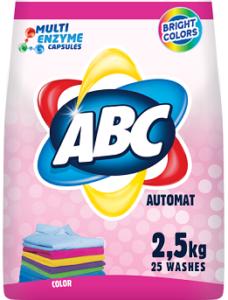 ABC Порошок для стирки авт Color 2.5кг