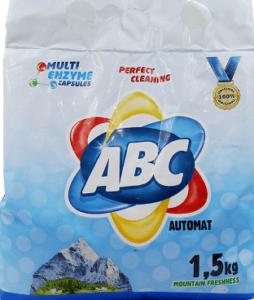 ABC Порошок для стирки авт Mountain Freshness 1.5кг