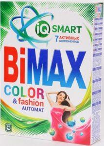 BiMax порошок стиральный Авт Color & Fashion 400гр