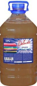 Deluxe Мыло жидкое Хозяйственное 72% 5л