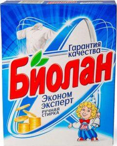 Биолан порошок стиральный Руч Эконом Эксперт кор 350гр