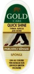 Gold Care губка-блеск для обуви Quick Shine Mini 1шт