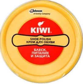 KIWI Крем для обуви в металлической банке Нейтральный 50мл 1шт