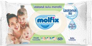 MOLFIX Детские влажные салфетки 60шт