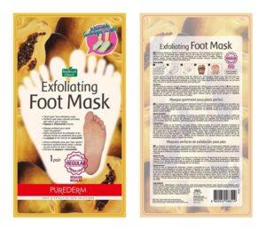 Purederm маска для ног Отшелушивающая 40мл
