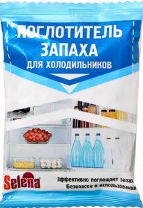 Selena Поглотитель запаха для холодильников (сухой) 100гр