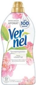 Vernel кондиционер для белья АРОМА ПИОН И БЕЛЫЙ ЧАЙ 1.82л
