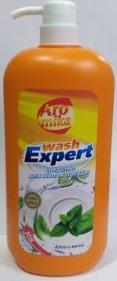 WashExpert средство для мытья посуды Алоэ и Мята 1100мл