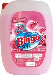 BINGO SOFT Кондиционер для белья Pink Rose 5000мл