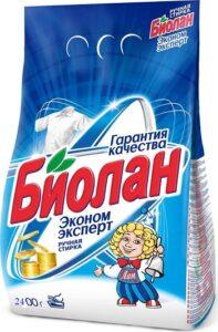 Биолан порошок стиральный Руч Эконом эксперт 2,4кг