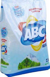ABC Порошок для стирки авт Mountain Freshness 2.5кг