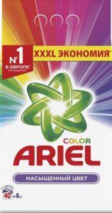 ARIEL Порошок стиральный авт Color 6кг