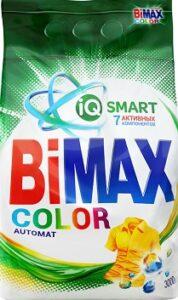 BiMax порошок стиральный Авт 7 Активных компонентов Color 3кг