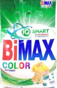BiMax порошок стиральный Авт Color пак 1.5кг