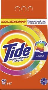 TIDE Порошок стиральный  авт Color 6кг