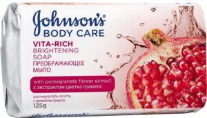 Johnson's Baby Vita-Rich мыло Преображающее с экстрактом Граната 125гр