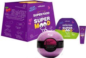 Cafe Mimi Подарочный набор крем для тела+бурлящий шарик+гель для душа Super Fruit