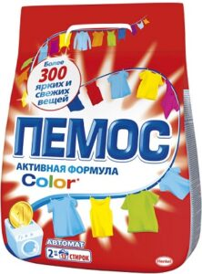 ПЕМОС Порошок стиральный  КОЛОР 2кг