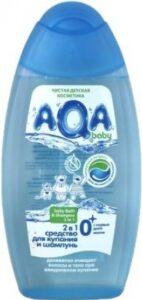 AQA шампунь и средство для купания 2в1 Деликатное 250мл