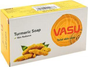 Vasu Uva мыло туалетное с Куркумой 125гр
