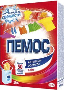 ПЕМОС Порошок стиральный колор 350гр