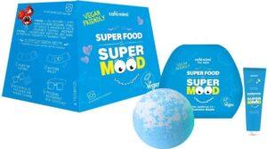 Cafe Mimi Подарочный набор крем для тела+бурлящий шарик+гель для душа Guarana Boom